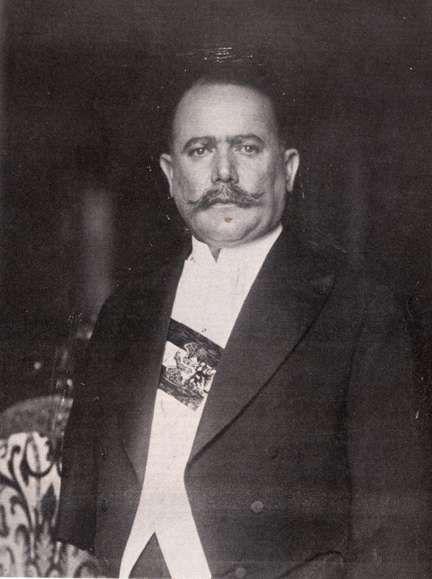 Los Constituyentes ::  Albaro Obregon En 1920, encabezó la Rebelión de Agua Prieta, contra Venustiano Carranza