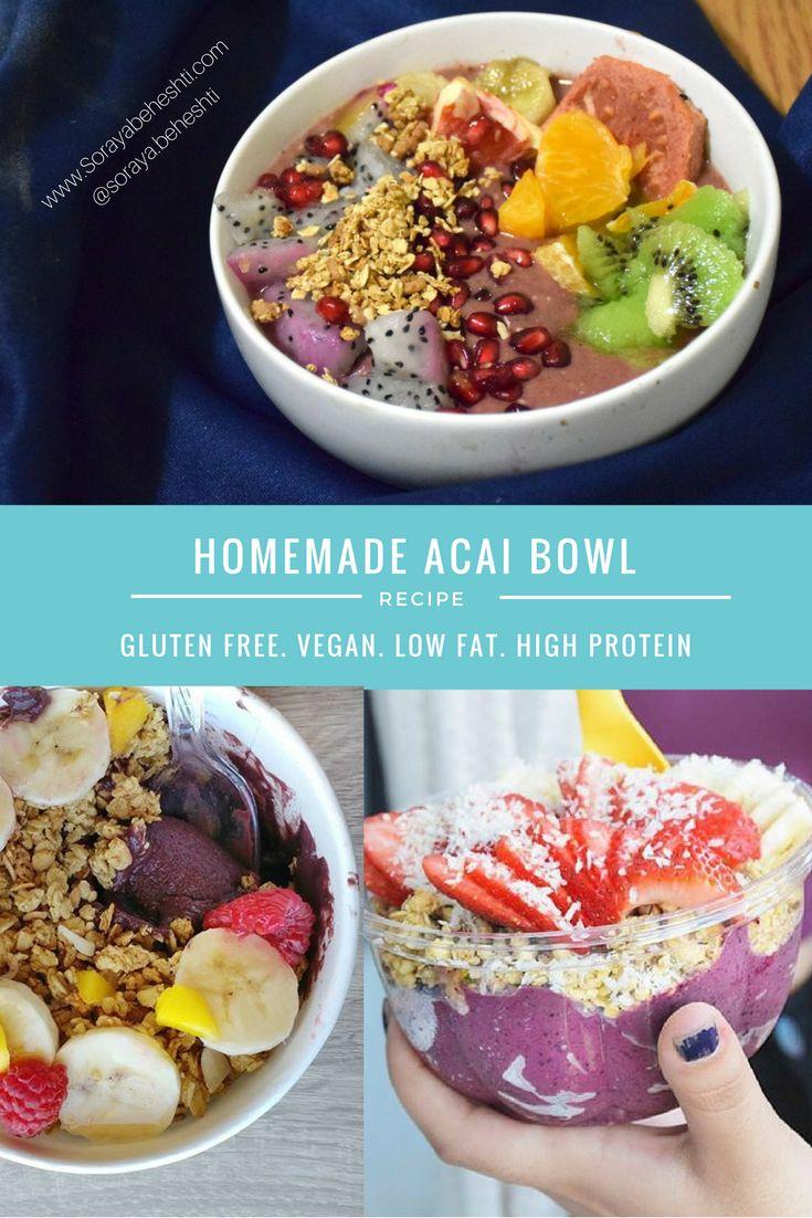 raw vegan acai bowl recipe sugar free paleo