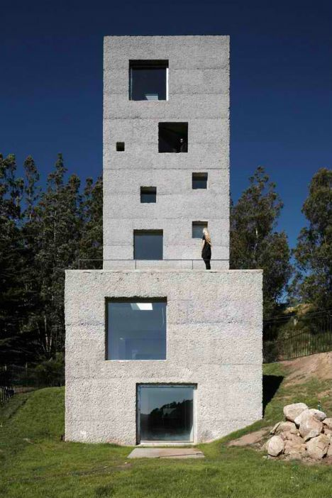 Fire-Inspired: 14 Converted & New Lookout Tower Homes | En Derin
