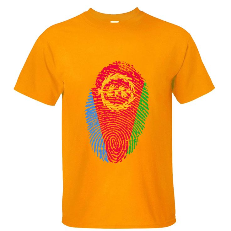 2017 newest fashion top Eritrea Flag Fingerprint cotton men t shirt tee shirt depeche mode bodybuilding joker geek superman Male #Affiliate