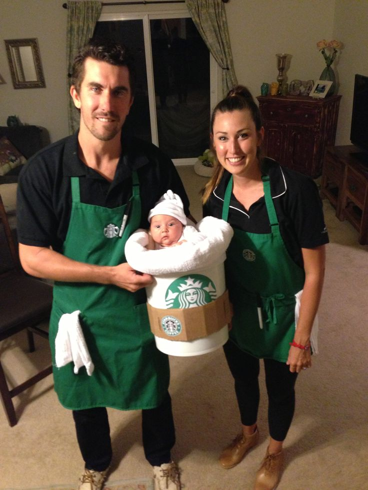 Starbucks Themed Halloween Costume Baby Pinterest
