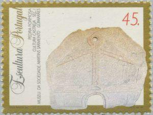Sello: Sculptures (Portugal) (Sculptures) Mi:PT 2021,Sn:PT 2001,Yt:PT 1999,Afi:PT 2219
