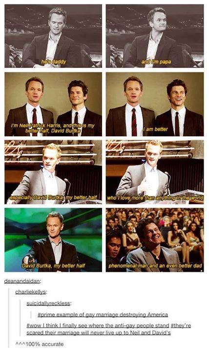 #1 goal in life is to find a man who loves me as much as NPH loves and adores his husband.