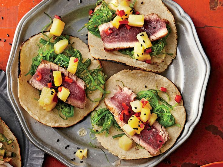Learn how to make Hawaiian Tuna Tacos . MyRecipes has 70,000+ tested recipes and videos to help you be a better cook