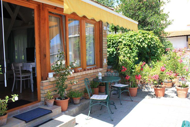 Nefelejcs apartman, terasz. Badacsony - Lake Balaton - Hungary