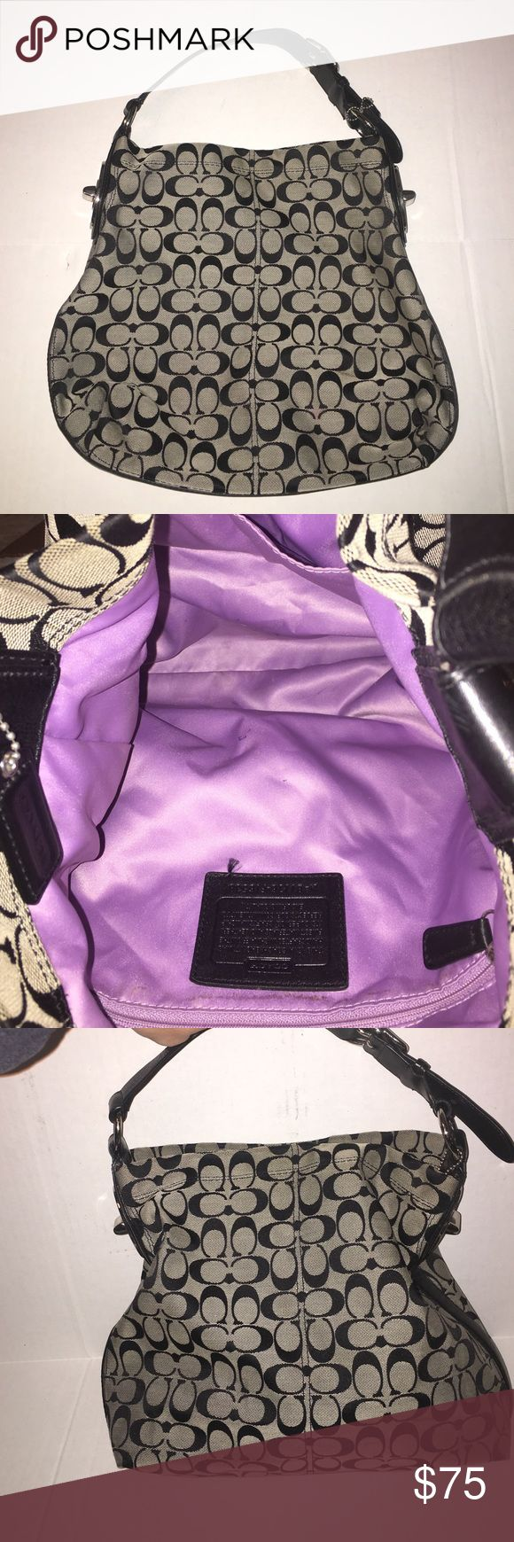 Coach purse Pre owned Coach purse in great condition!  The inside does a does have a few small makeup marks.  Smoke and pet free house.   ** the number on this bag is B1178-F16538**. I have nothing to hide in any of my listings:) Coach Bags Satchels