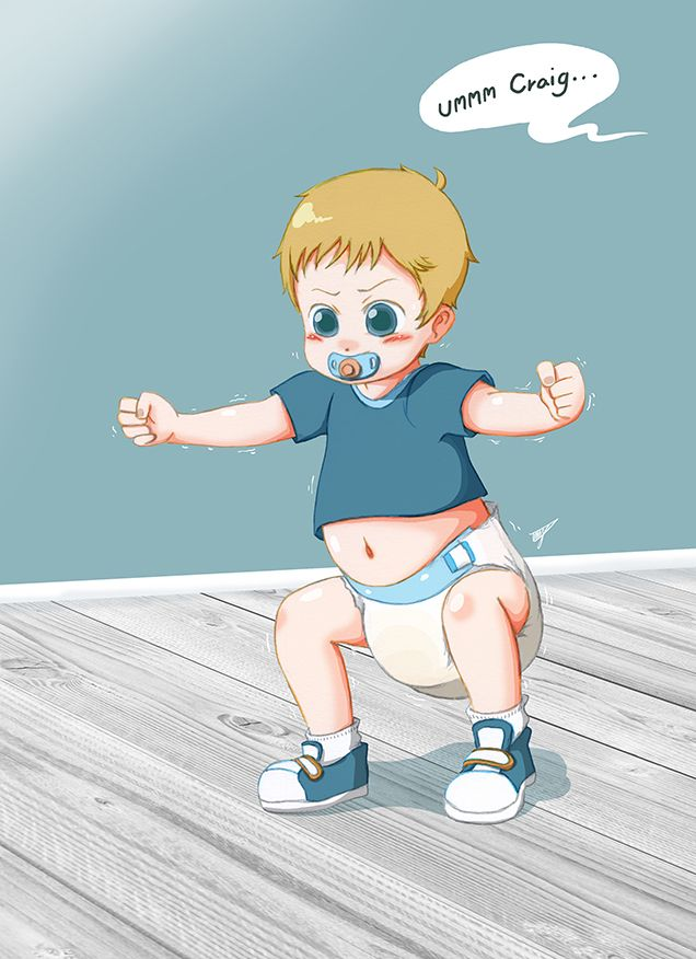 diaper boy deviantart - photo #2