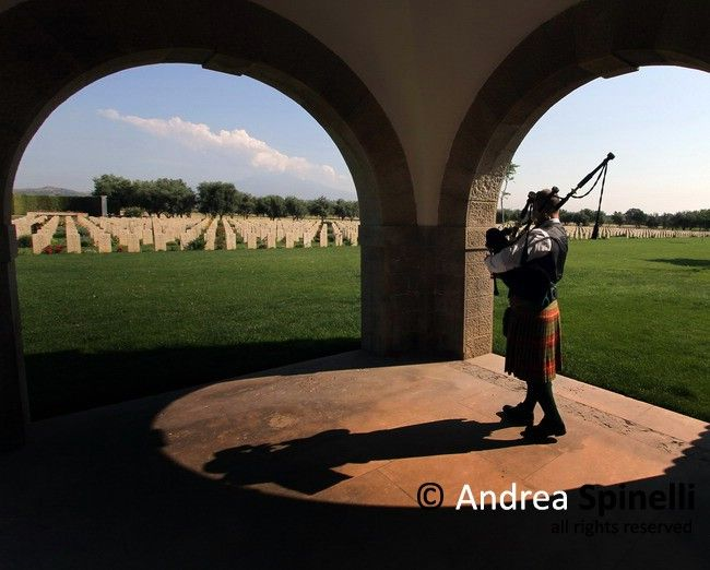 British War Cemetery of Catania, Italy