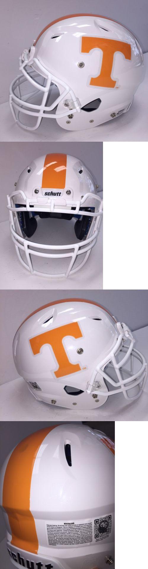 Helmets and Hats 21222: Tennessee Volunteers Football Helmet Schutt Large Vengeance Helmet Pro - New -> BUY IT NOW ONLY: $175 on eBay!