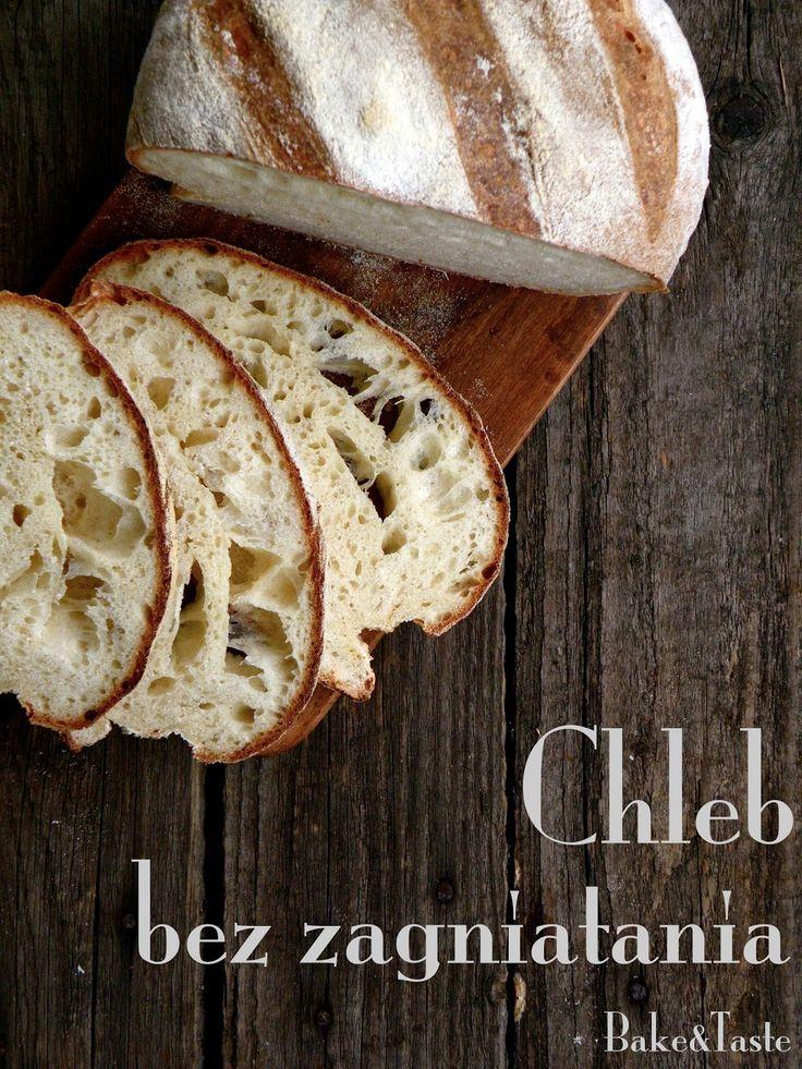 Bake&Taste: Chleb drożdżowy bez zagniatania