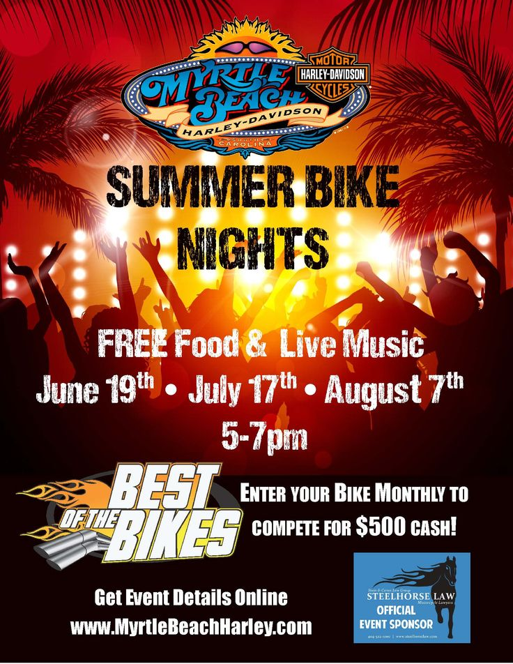 13 best myrtle beach harley-davidson events images on pinterest