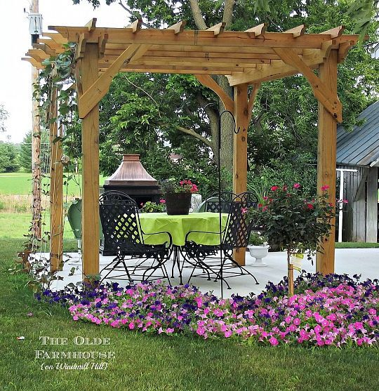 Build your own pergola for an outdoor retreat for Build your own pergola