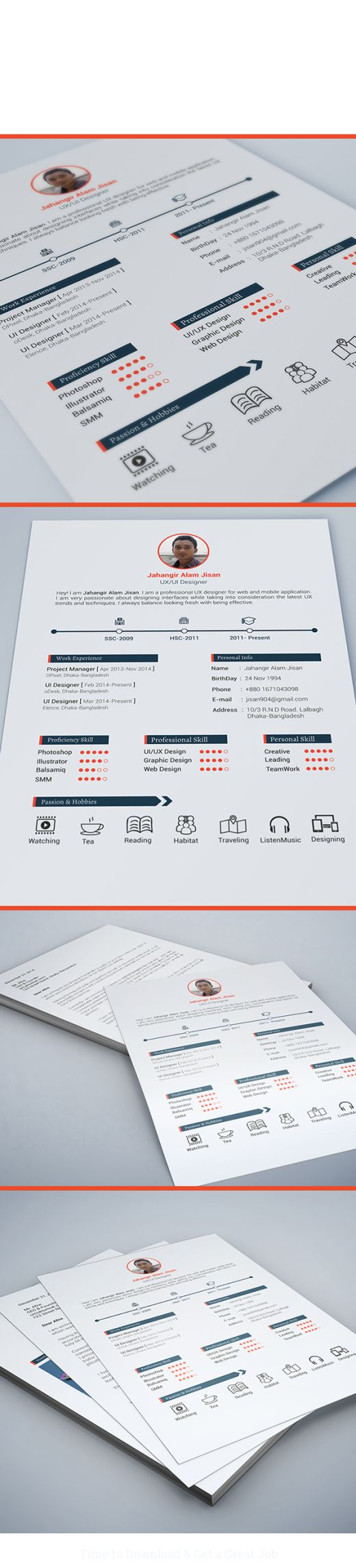 33 best CV images on Pinterest | Cv template, Resume and Resume ...