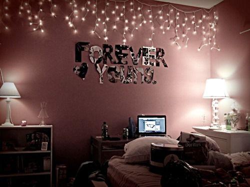 Bedroom Ideas Tumblr Christmas Lights