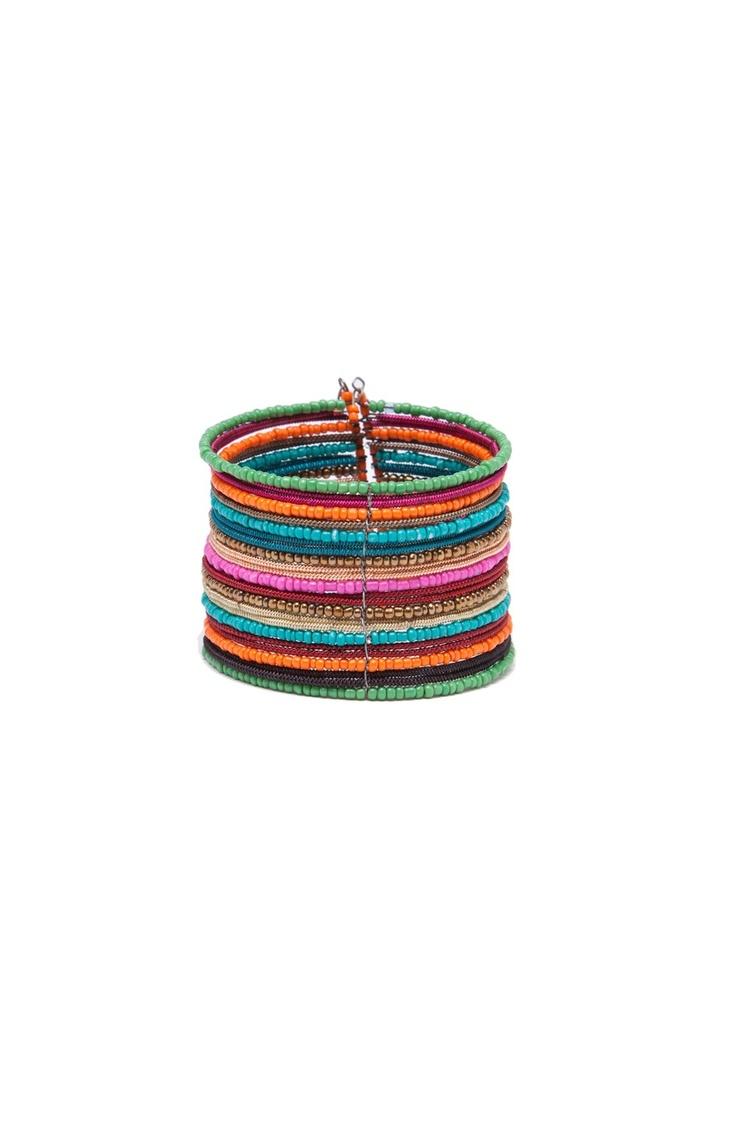 Manchette perles multicolores multicolore SINEQUANONE
