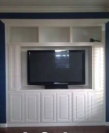 Custom Cabinets - Entertainment Centers/Built Ins - Vrieling Woodworks - Crown Molding Installation, Temecula CA