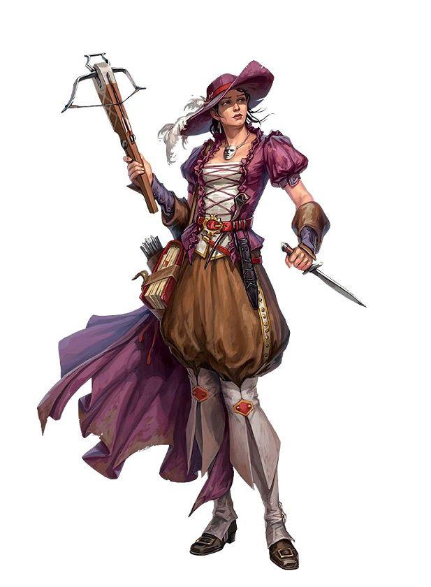 Human Female Bard - Pathfinder PFRPG DND D&D d20 fantasy | ++