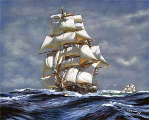 Painting Sailing Ships Reviews - Online Shopping Painting Sailing ...