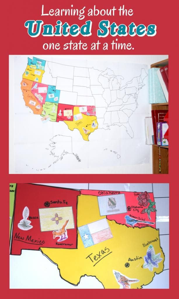 Best HS Around The USA Images On Pinterest States - Us map print out