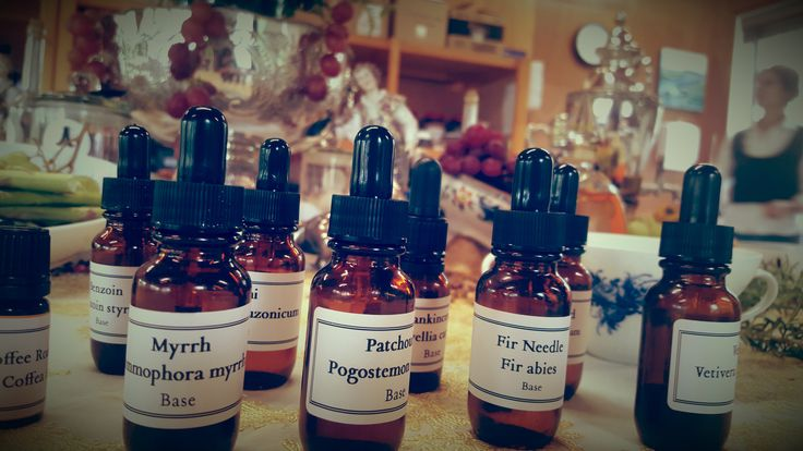 Getting ready for a morning of exploring natural perfumery in the Archeus Apothecary