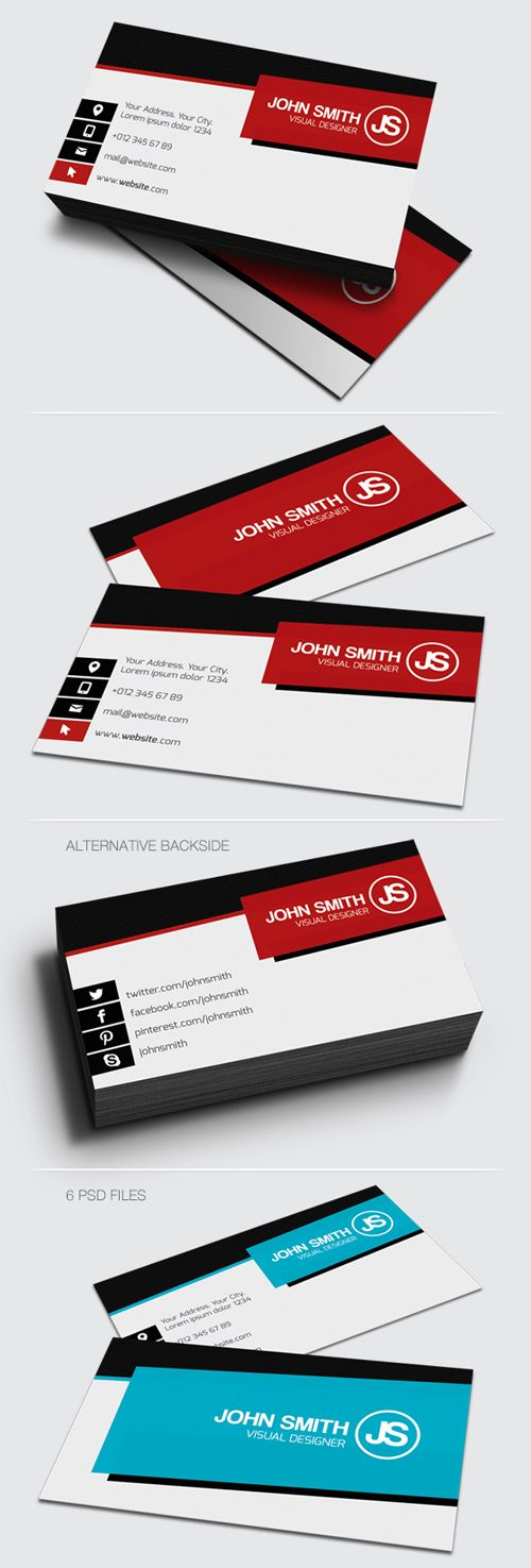 122 best Business Cards Designs images on Pinterest | Business ...
