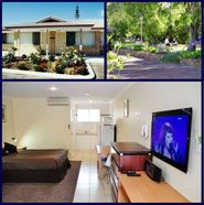 Emu Point Apartments Emu Point  Enjoy comfortable accommodation nestled in peaceful surroundings just 200m from pristine beaches. Our great value accommodation offers a fantastic location for holidays and business. We offer executive studio style apartments as well as a choice of standard and deluxe motel rooms.