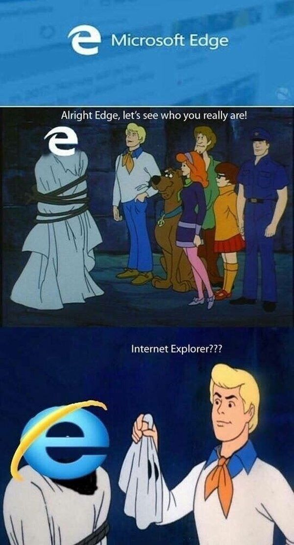 Edge might actually be better than Internet Explorer, but given the reputation of Microsoft's previous browser, I've never even given the new version a chance. [Via GU]