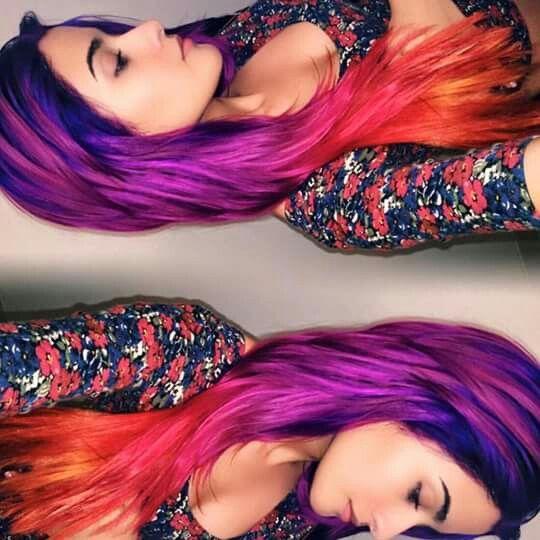 Artic fox hair color!