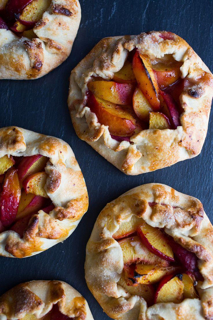 Sweet Harissa Peach Crostata - Chez Us