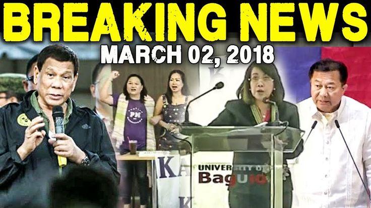 BREAKING NEWS TODAY MARCH 03 2018 SPEAKER ALVAREZ l CHIEF JUSTICE SERENO...