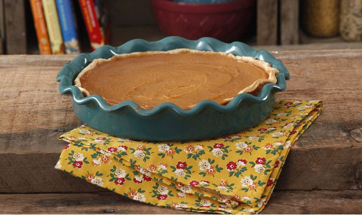 Pioneer Woman Pumpkin Pie Alisha made this 2016 and it was GREAT!