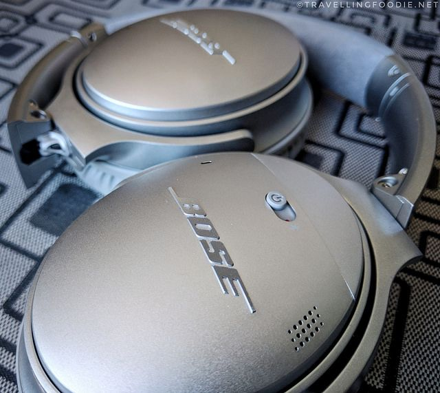 Review of Bose QuietComfort 35, or QC35, wireless headphones: the most comfortable noise cancelling headphones!
