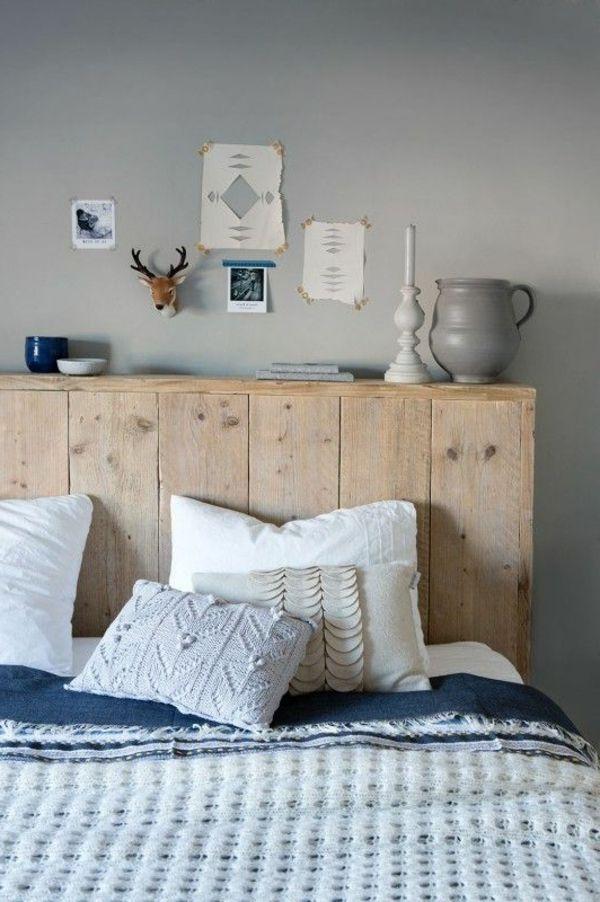 Tête de lit créative diy                                                                                                                                                                                 Plus