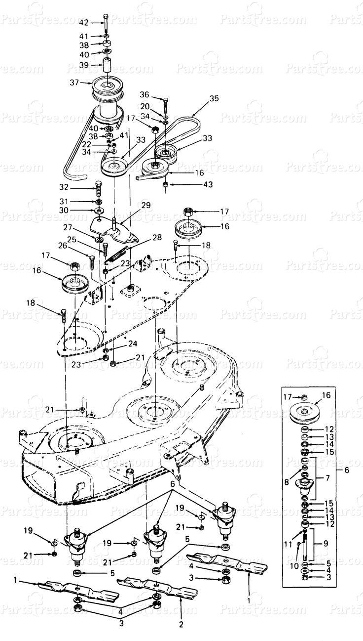 Df C Aefa Aa A E B on Cub Cadet Mower Deck Parts Diagram
