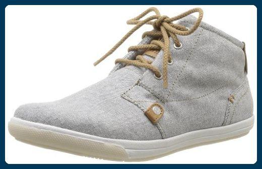 Mustang High Top Sneaker 1149-501-2 Damen Sneaker, Grau (grau 2), EU 45 - Sneakers für frauen (*Partner-Link)