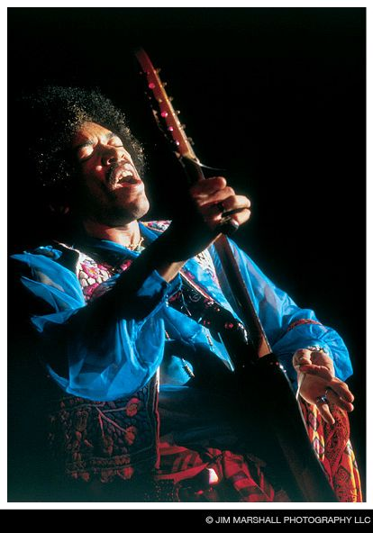 Jimmy Hendrix, Winterland, 1968