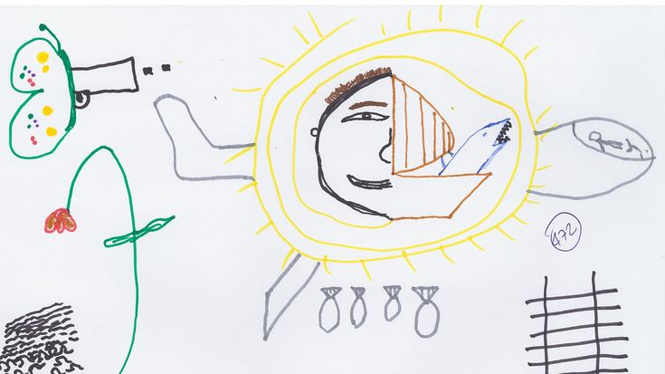 Syrian Refugee Kids Were Told To Draw Whatever They Wanted | Children may not be able to put their emotions into words, says psychologist Vittoria Ardino. But give them crayons and they can reveal their feelings in pictures.