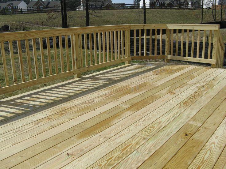 terrasse bois pin rouge du nord Debarge Bois 28 x 145 mm  traité