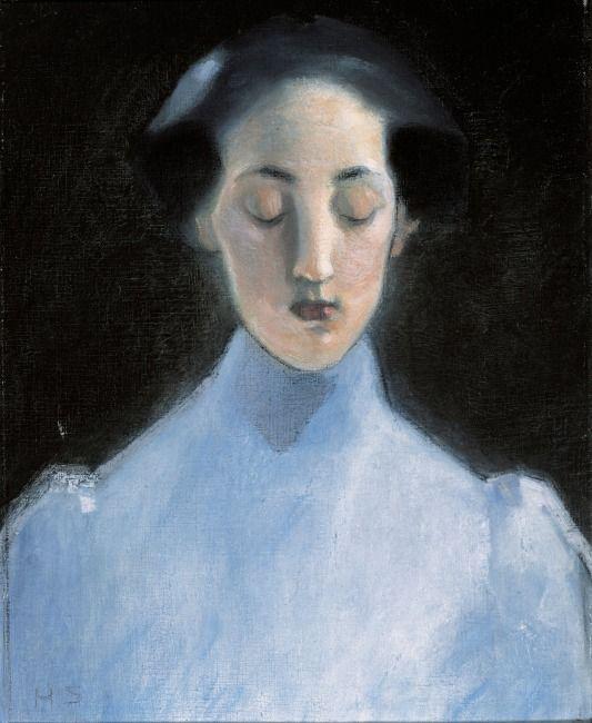 Helene Schjerfbeck, Hiljaisuus (Silence), 1907
