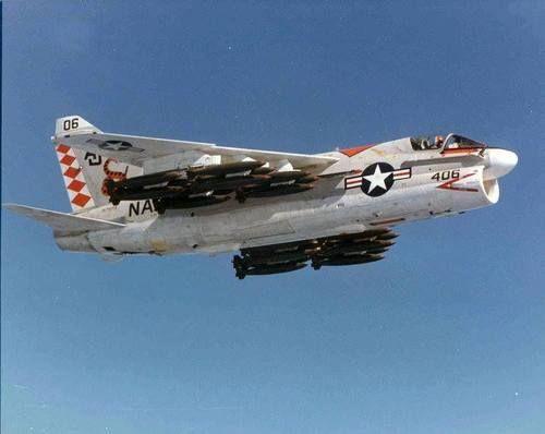 A-7 Corsair loaded for bear