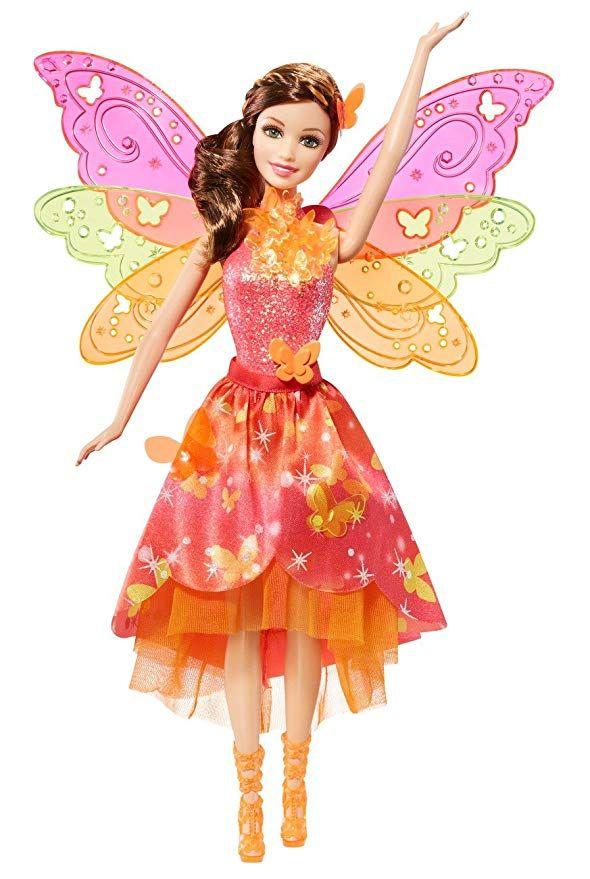 Mattel Barbie Blp26 Barbie Und Die Geheime Tur Magische Fee Mit Funktion Puppe Barbie Puppen Geschenkideen Gesc Feenpuppen Mattel Barbie Barbie Prinzessin