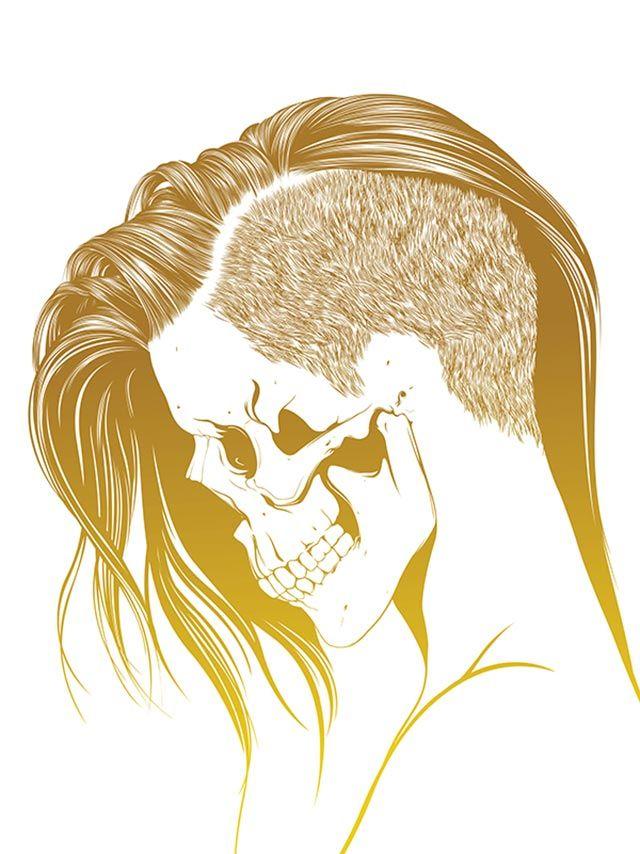 Você sabe ilustrar cabelos? Veja o processo de Gerrel Saunders