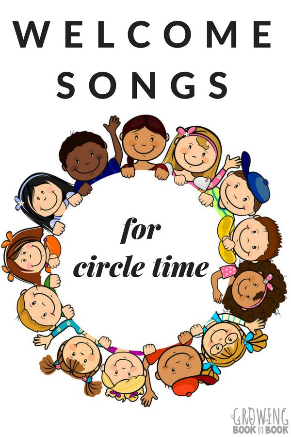 7 Circle Time Welcome Songs | Calendar/Circle Time