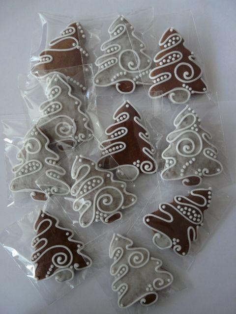 royal iced cookies   christmastree