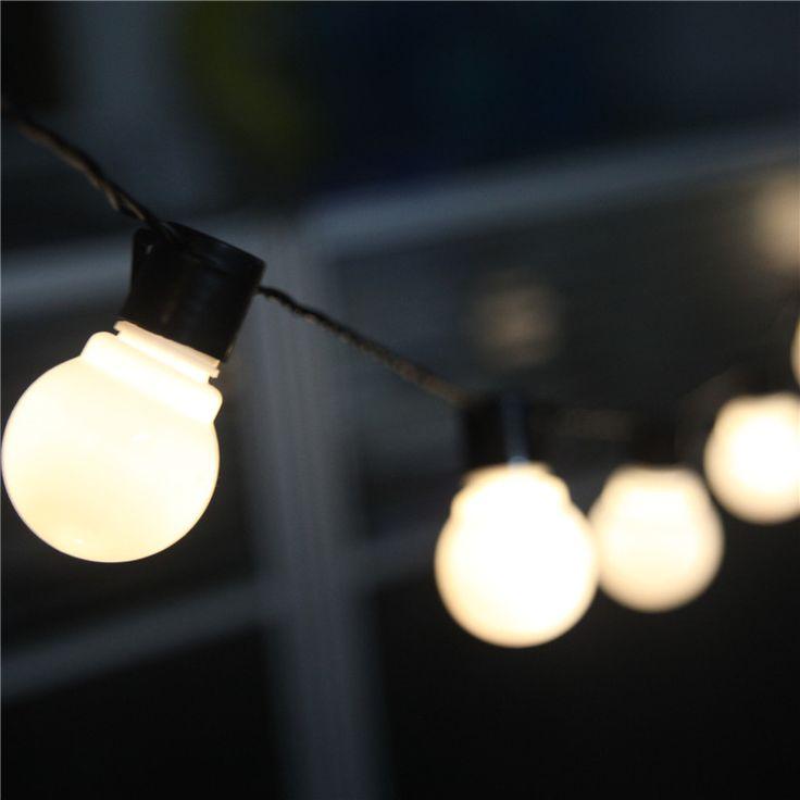 Goedkope outdoor 10 meter 38 led lantaarn lamp tuin patio partij lichtslingers voor kerst bruiloft decoratie verlichting, koop Kwaliteit led slinger op rechtstreeks van Leveranciers van China: Notities:1- houd er rekening mee dat dit 0.06w led licht, alleen voor decoratie, niet helder genoeg is voor het verlicht