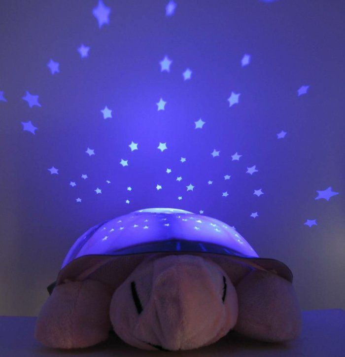 Ideal Nachttisch Lampe schildkroete sternenhimmel kuscheltier