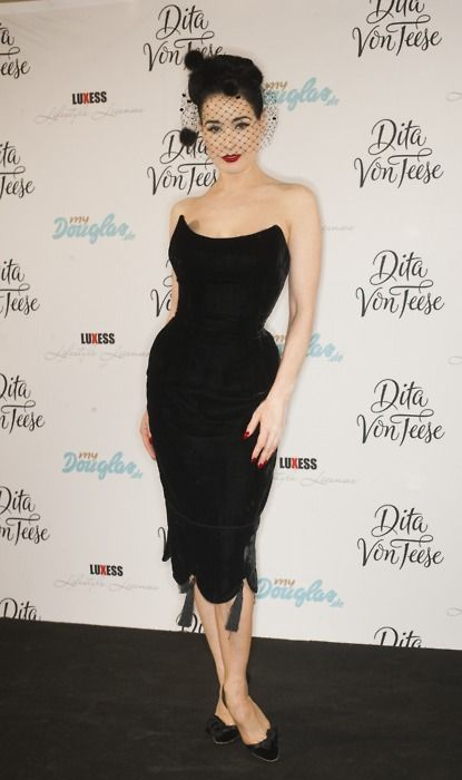 Dita in Berlin I want her dress!