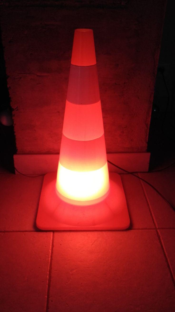 lampe signalisation humour : Luminaires par lukilum