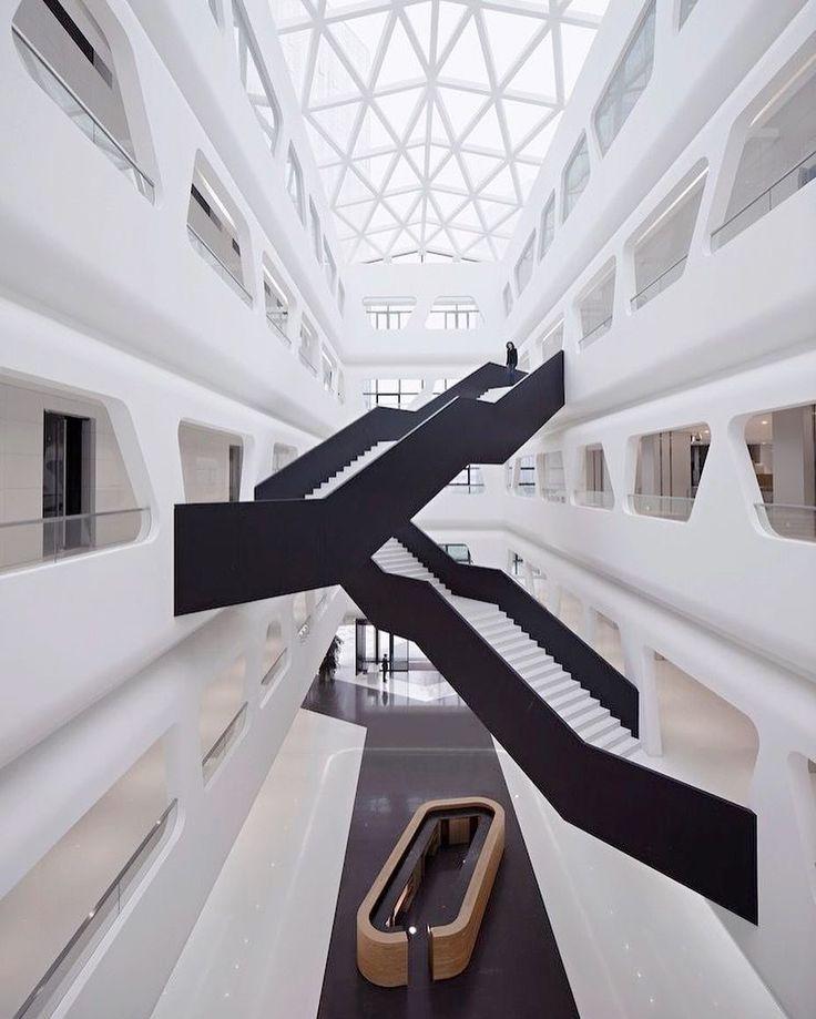 Midwest Commodity Exchange Center by Interdesign Associates  Hugo Kohno Architect Associates
