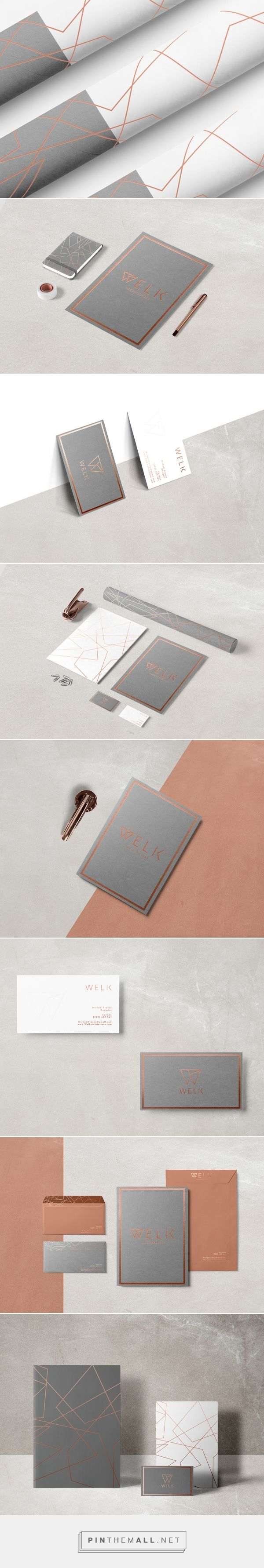 Welk Architecture Branding by Stefan D | Fivestar Branding Agency – Design and Branding Agency & Curated Inspiration Gallery